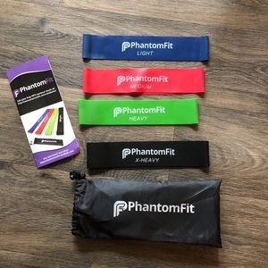 Phantom Fit Fitness Bands- 4 total